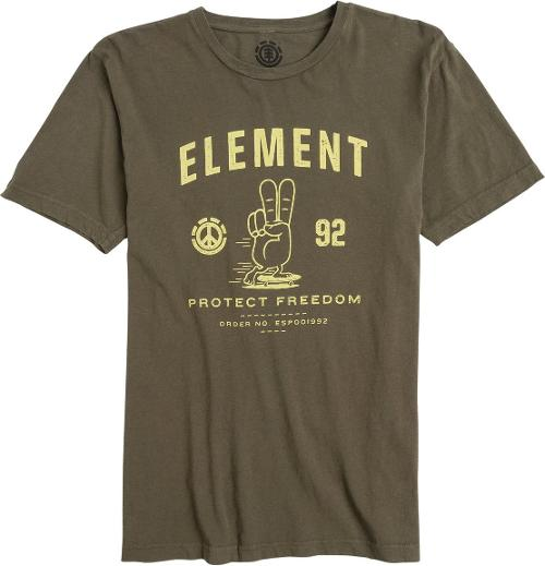 Element Lawrence SS Tee by Swell in Step Up: All In