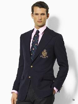 Men's RL Polo Suit Jacket black by Ralph Lauren in Vampire Academy