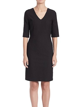 V-Neck Dress by Josie Natori in The Good Wife