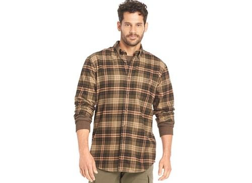 Fireside Flannel Shirt by G.H. Bass & Co. in Krampus