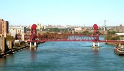 New York City, New York by Roosevelt Island Bridge in Daredevil