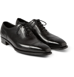 Anthony Cameron Leather Brogues Shoes by George Cleverley in The Man from U.N.C.L.E.