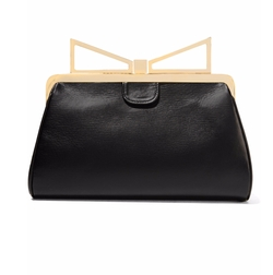 Lady Me Leather Clutch Bag by Sara Battaglia in The Good Wife