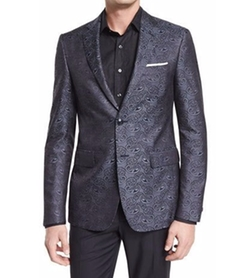 Paisley-Print Silk Evening Jacket by Etro in Empire