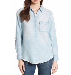 Onyx B Chambray Shirt by Soft Joie in X-Men: The New Mutants