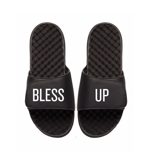 Bless Up Slide Sandals by We The Best in Chelsea - Season 1 Episode 3