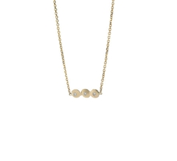Three Peat Necklace by Crowe in Scream Queens