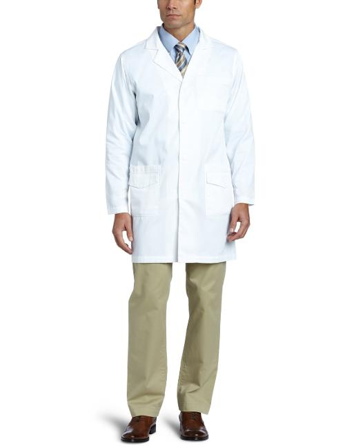 Men's Twill 6 Pocket Lab Coat by Carhartt in Lucy