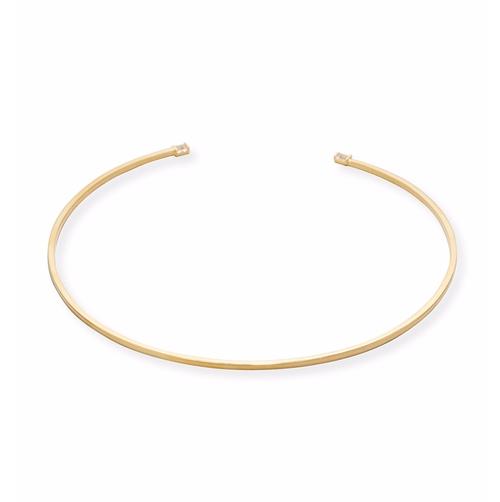 Zahara Golden Choker Necklace by Jennifer Zeuner in Quantico - Season 2 Episode 1