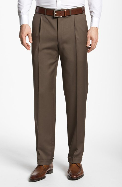 Pleated Trousers by Canali in The Age of Adaline