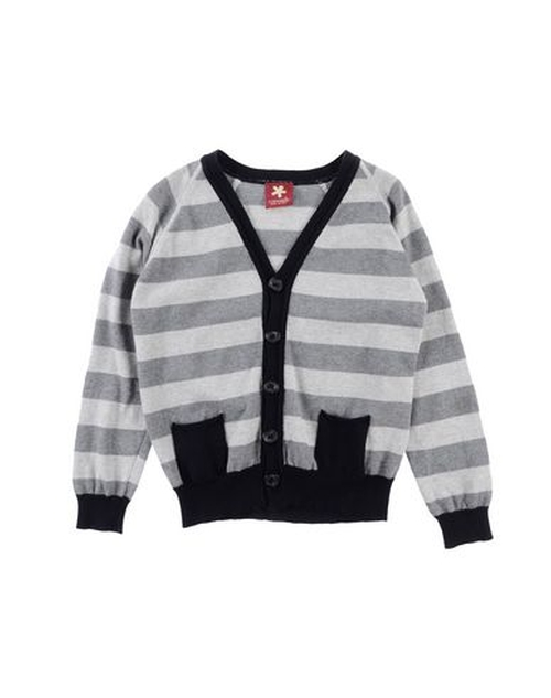Striped Cardigan Sweater by Caporea in Black-ish - Season 2 Episode 8