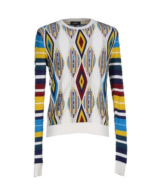 Pattern Sweater by Jean Paul Gaultier in Eddie The Eagle