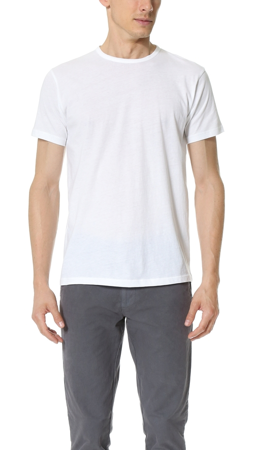 Crew Neck T-Shirt by Apolis in Grease