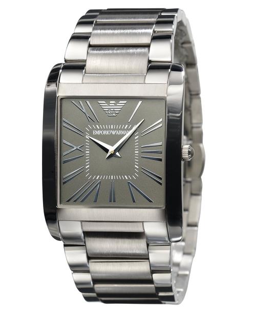 Stainless Steel Bracelet Watch by Emporio Armani in John Wick
