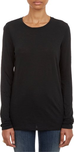 Long-sleeve Classic T-shirt by Proenza Schouler in The Gambler