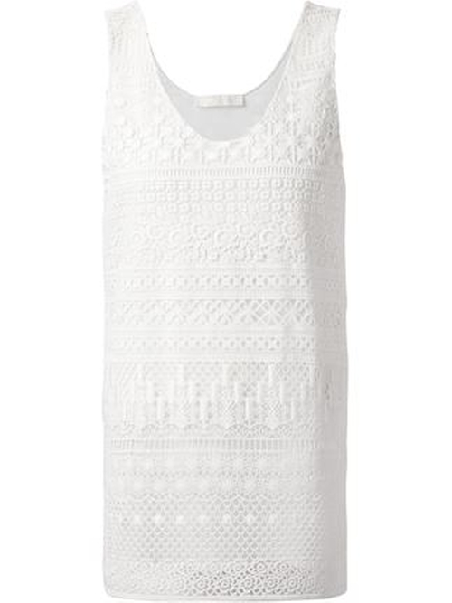 Crochet Tank Top by Chloé in Nashville - Season 4 Episode 4