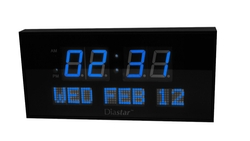 Oversized Digital Calendar Clock by Diastar in John Wick
