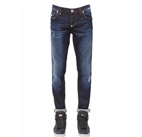 Distressed Stretch Denim Jeans by Philipp Plein  in Ballers - Season 2 Episode 2