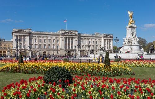 Buckingham Palace London, United Kingdom in London Has Fallen