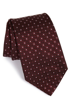 Dot Silk Tie by Armani Collezioni in Valentine's Day
