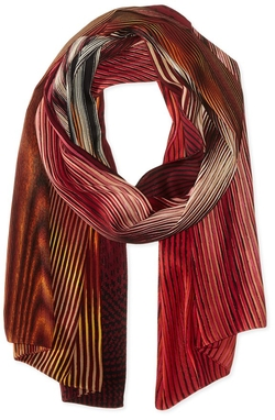 Women's Optical Stripes Oblong Scarf   by Echo Design  in Special Correspondents