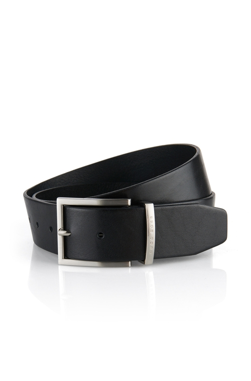 Buddy Leather Belt by Boss Hugo Boss in Supergirl