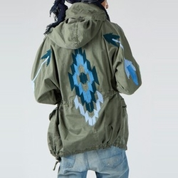 East at Dawn Hooded Parka by NSF Clothing in Keeping Up With The Kardashians