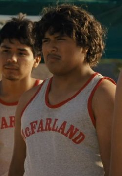 Custom Made McFarland Running Tank Top by Sophie De Rakoff (Costume Designer) in McFarland, USA
