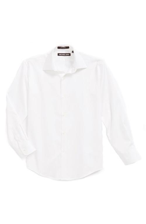 Woven Cotton Dress Shirt by Michael Kors in Sixteen Candles