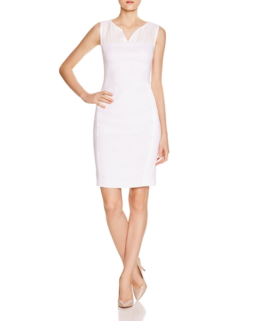 Anya Textured Sheath Dress by Elie Tahari in House of Cards