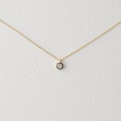 Hexagon Diamond Necklace by Satomi Kawakita in Suits