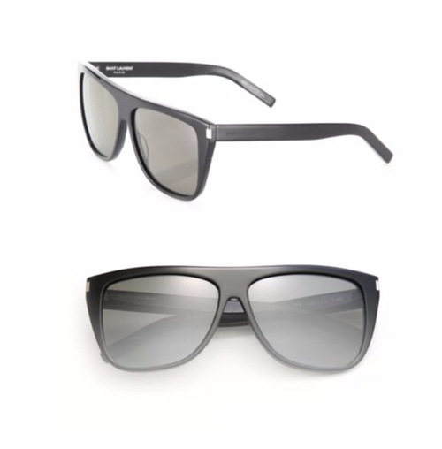 SL 1 Flat Top Sunglasses by Saint Laurent  in Keeping Up With The Kardashians - Season 11 Episode 11