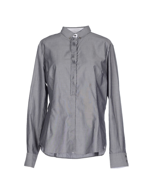 Solid Button Down Shirt by Henry Cotton in Love the Coopers