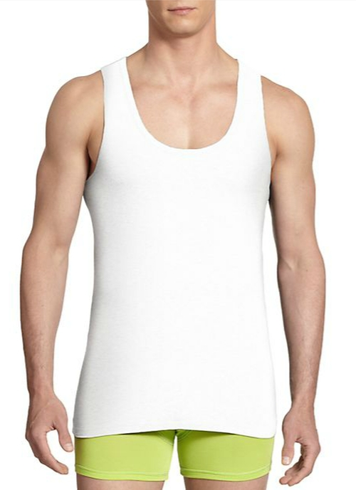 Iconic Logo Tank Top by Versace in By the Sea