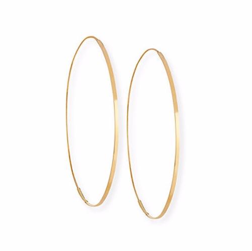 Flat Magic Hoop Earrings by Lana in Keeping Up With The Kardashians - Season 13 Episode 14
