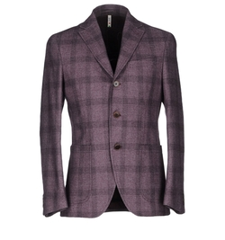 Check Blazer by AC Alessandro Cantarelli in Rosewood
