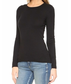 1x1 Crew Neck Tee by Splendid in Keeping Up With The Kardashians