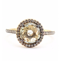 18k Yellow Gold Ring by Suzanne Kalan in The Bachelorette