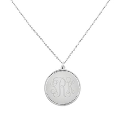 Stainless Steel Round Disc Pendant by QVC in Avengers: Age of Ultron