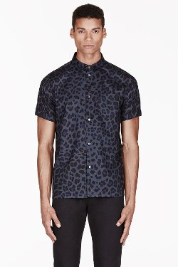 London Leopard Print Shirt by Marc by Marc Jacobs in Entourage