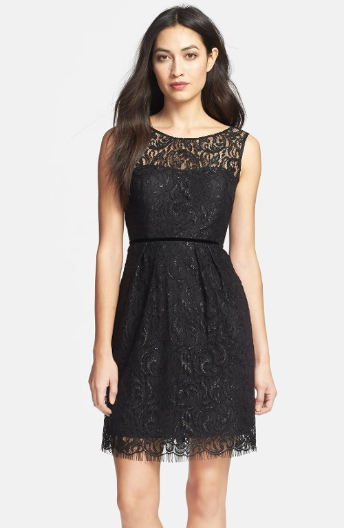 'Harlow' Lace Sheath Dress by Jenny Yoo in That Awkward Moment