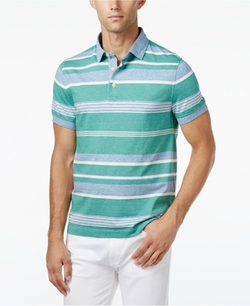 Caleb Stripe Polo Shirt by Tommy Hilfiger in Ballers