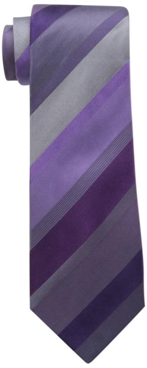 Men's Sandford Stripe Tie by Kenneth Cole Reaction in The Dark Knight Rises