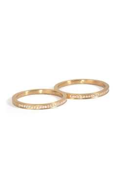 Rue De Diamant Double Ring by Sophie Bille Brahe in Suits