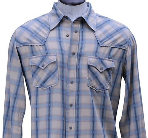 Cotton Rope Stitch Shirt by Ryan Michael in Nashville - Season 4 Episode 6