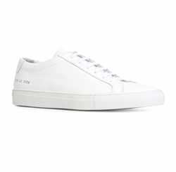 Achilles Leather Low-Top Sneakers by Common Projects in Keeping Up With The Kardashians