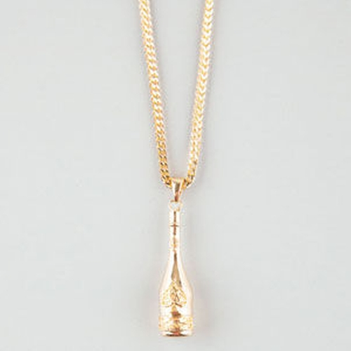Ace Of Spades Necklace by The Gold Gods in She's Funny That Way