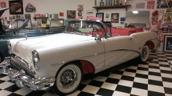 1954 Skylark Model 100 Convertible Car by Buick in The Best of Me