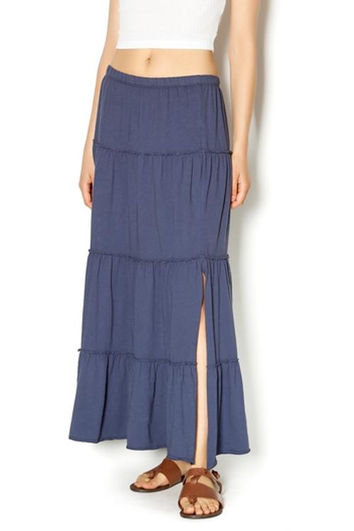 Organic Cotton Tiered Skirt by Dylan in Jane Got A Gun