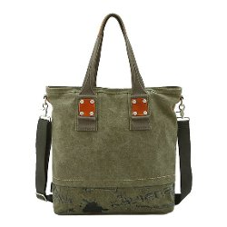 Women's Graffiti Canvas Shoulder Handbag by Artone in The DUFF